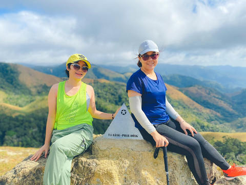 Bản đồ trekking Tà Năng Phan Dũng