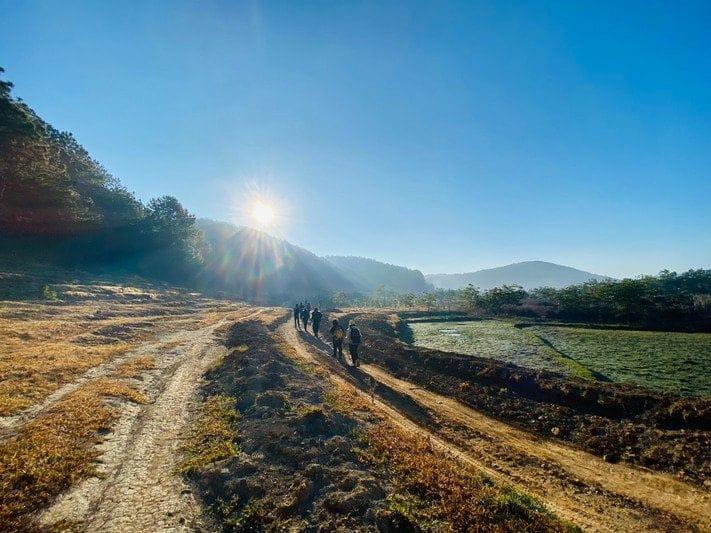 Những Cung đường tuyệt đẹp trên chuyến đi Trekking Miền Nam tại Tà Năng Phan Dũng