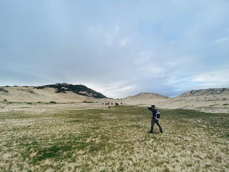"""Băng qua"""" Sa Mạc thu nhỏ"""" tại Cực Đông mới thấy khung cảnh tuyệt đẹp rất đỗi hoang sơ"""