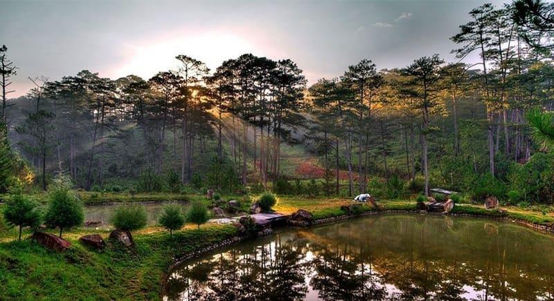 Cảnh sắc tuyệt đẹp tại Vườn quốc gia Bidoup Núi Bà
