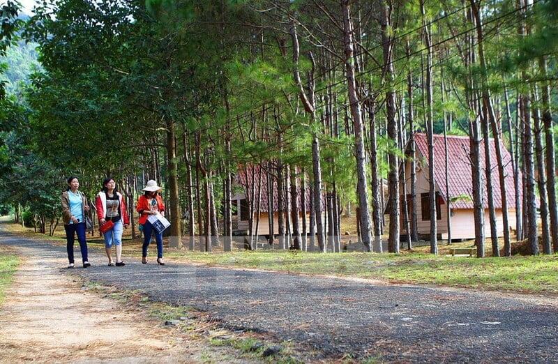 Cung đường tuyệt đẹp đến với Thác Krông Kmar