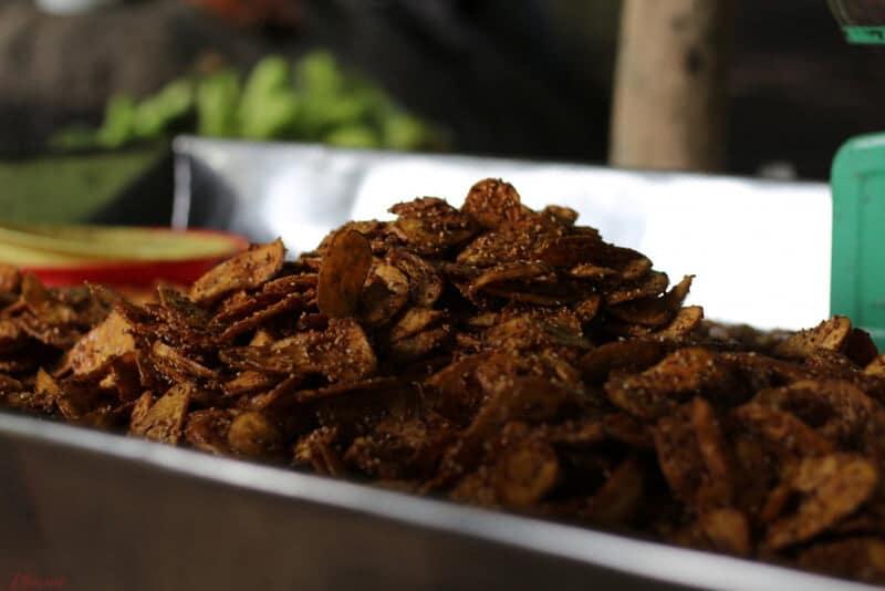 Món ăn tuy đơn giản, nhưng là món đặc sẳn cực ngon khi đến với Núi Chứa Chan đấy