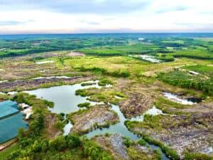 Thiên nhiên hùng vĩ ở thác Trị An trên sông Đồng Nai