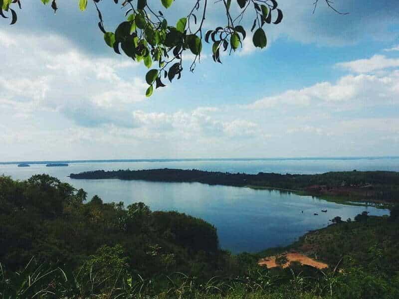 Hồ Trị An là một bộ phận của đập thủy điện Trị An thuộc địa phận tỉnh Đồng Nai